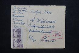 HONGRIE - Enveloppe De Jérusalem Pour La Suisse Avec Contrôle Postal , Peu Fréquent - L 24740 - Levant (Turkije)