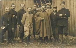 Themes Div-ref BB172- Carte Photo - Guerre 1914-18- Groupe De Militaires - - Le Treport