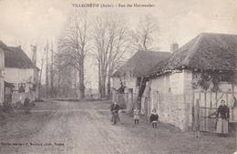 CPA 10 - VILLECHETIF - Rue Des Marroniers - Rare - Otros Municipios