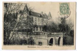 CPA 01 MEXIMIEUX Le Chateau  1907 - France