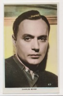 AK18 Film Stars - Charles Boyer - RPPC - Actors