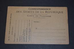 CP Correspondance Des Armées Dessin G CACHET 1916 Non Circulée - War 1914-18