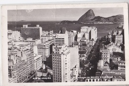 RIO DE JANEIRO AVENUDA RIO BRANCO E CASTELLO VG  AUTENTICA 100% - Rio De Janeiro