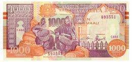SOMALIA 1000 SHILIN 1990 Pick R10 Unc - Tanzania