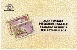 "Indonesia Postal Service 2014, ""HIDDEN IMAGE"" - Indonesia"