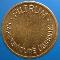 KB145-2 - FILTRUM - Hazerswoude Rijndijk - B 22.0mm - Koffie Machine Penning - Coffee Machine Token - Professionnels/De Société
