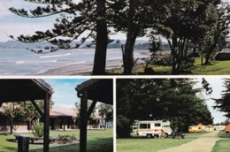 AS29 Waikanae Beach Holiday Park, Gisborne - Multiview - Nouvelle-Zélande