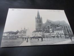 Eeklo, La Grand Place Et L'Eglise, Edit De Graeve Nr 3997 - Eeklo