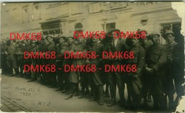 CROATIA  - FIUME / Rijeka  -  BERSAGLIERI -  POSTCARD -  EDIT CE-NEI GESILICHT-POSTKARTE  - 1920 - RARE ( BG2733) - Croatie