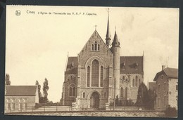 +++ CPA - CINEY - Eglise De L'Immaculée Des RRPP Capucins - Nels    // - Ciney