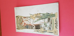 Elisabeth SONREL - Art Nouveau Genre MUCHA, Signé - Illustratori & Fotografie