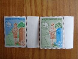LAOS 1974 Y&T N° 261 & 262 ** - CETENAIRE DE L'U.P.U. - Laos
