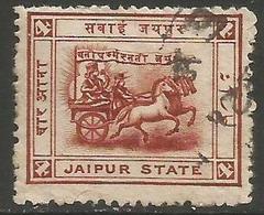 Jaipur- 1904 Chariot Of Surya 4a Used    Sc 8 - Jaipur