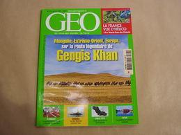 GEO Magazine N° 323 Géographie Voyage Monde Mongolie Ghengis Khan Asie Maldives Mecque Arabie Nord Pas De Calais Aigle - Tourisme & Régions