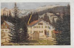 """AK 0183  Österreichisches Grenzwirtshaus """" Walserschanz """" - Verlag Glink Um 1930 - Kleinwalsertal"""