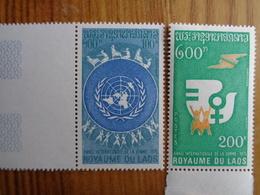 LAOS 1975 Y&T N° 281 & 282 ** - ANNEE INTERNATIONALE DE LA FEMME - Laos