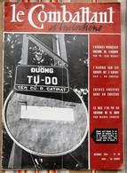 "Revue ""Combattant D INDOCHINE"" N°40  1955 - Frans"