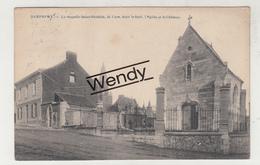 Dampremy (la Curé Dans Le Fond, église Et Le Château) - Charleroi