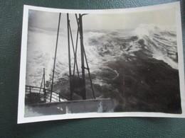 PHOTO  TRANSATLANTIQUE PAQUEBOT  CHERBOURG CALAIS LE HAVRE BATEAU FORMAT CPA SS DE GRASSE - Bateaux