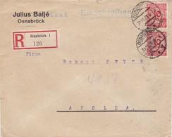 Brief Aus Osnabrück 1923 - Deutschland
