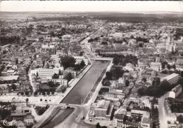 TROYES - AUBE  -  (10)  -  CPSM .DENTELÉE 1963 - BEL AFFRANCHISSEMENT POSTAL.. - Troyes