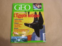 GEO Magazine N° 334 Géographie Voyage Monde Egypte Antique Héracléion Mexico Capitale Du Rapt Mexique Mongolie Namibie - Tourisme & Régions