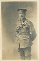 WW1 - PORTRAIT OF A SOLDIER - PLYMOUTH STUDIO #88139 - War 1914-18