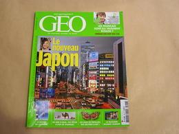 GEO Magazine N° 336 Géographie Voyage Monde Nouveau Japon Mer D'Aral Russie Papillon Désign Extrème Bulgarie Kazakhstan - Tourisme & Régions