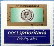 ITALIA - REPUBBLICA - 2006 - Posta Prioritaria Prioritario 1,40 Con Millesimo Ed Etichetta - Nuovo - MNH** - 6. 1946-.. Repubblica