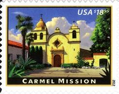 Etats-Unis USA 4468b Mission San Carlos Borroméo Del Rio Carmelo - Chiese E Cattedrali