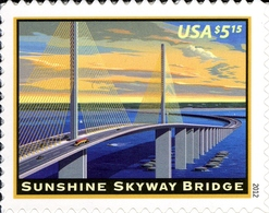 Etats-Unis USA 4468a Pont Sinshine Skyway - Ponti