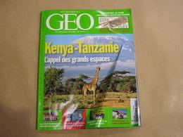 GEO Magazine N° 344 Géographie Voyage Monde Kenya Tanzanie Afrique Spoutnik Sarajevo Tasmanie Le Havre Architecture - Tourisme & Régions