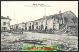 Guerre 14-15 VALLOIS Environs De Gerbéviller. En Ruines - Gerbeviller