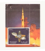 Arabie  Sharjah 1972 Bloc - Timbres