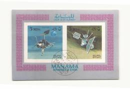 Arabie  Manama 1972 Bloc - Timbres