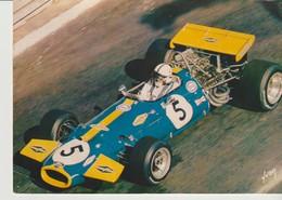 CP - PHOTO - GRAND PRIX DE MONACO - JACK BRABHAM - 5 -  BRABHAM FORMULE 1 B T 33 - 40/100/55 - YVON - Grand Prix / F1