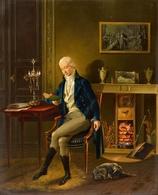 @@@ MAGNET - Johann Heinrich Wilhelm Tischbein, Portrait Of The Painter Joseph Dorffmeister - Publicitaires