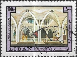 LEBANON 1973 Lebanese Handicrafts - 100p - Handicraft Museum FU - Libanon