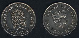 Brunei, 20 Sen 1983, Unzirkuliert - Brunei