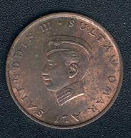 Brunei, 1 Sen 1967, Fast Unzirkuliert - Brunei