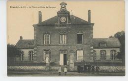 DROUÉ - La Mairie Et Ecole De Garçons - Droue
