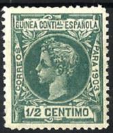 Guinea Española Nº 10 En Nuevo - Guinée Espagnole