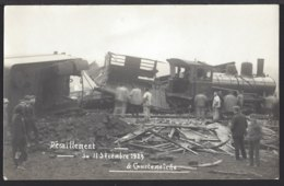 Courtemaîche - Deraillement Du Train - Zugentgleisung - Train à Vapeur - Dampflok - Bahn - JU Jura
