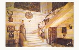 CHATEAU DE JAULNY GRAND ESCALIER ET VESTIBULE - Châteaux