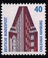 Bund 1988, Michel# 1379  R ** Rollenmarken Mit Nr.1655 Sehenswürdigkeiten - Rollenmarken