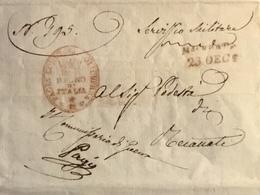 1811 MACERATA MILITARE  PER RECANATI - Italy