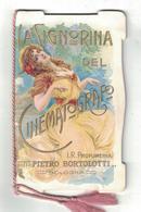 CALENDARIETTO BORTOLOTTI BOLOGNA 1916  LA SIGNORINA DEL CINEMATOGRAFO - Calendriers