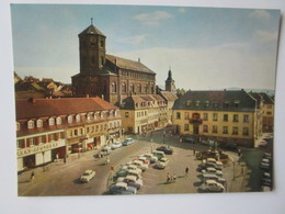 Homburg Saar Marktplatz - Saarpfalz-Kreis