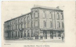 Chatelet - Chatelineau - Place De La Station - Phot. Miaux - 1904 - Châtelet