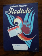 L18/122 Protege Cahier. Radiola - Book Covers